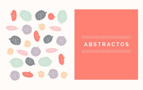 Patron abstracto Hello! Creatividad