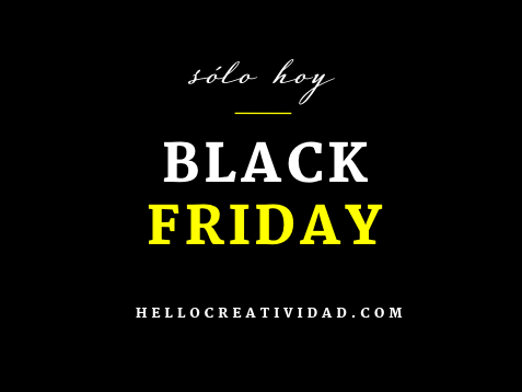 Nos apuntamos al Black Friday