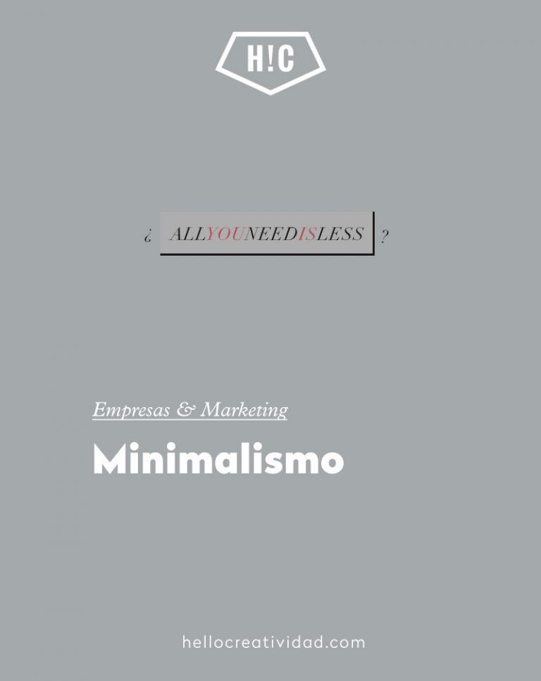 Imagen portada Minimalismo