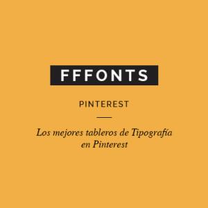 Los mejores tableros de tipografía en Pinterest