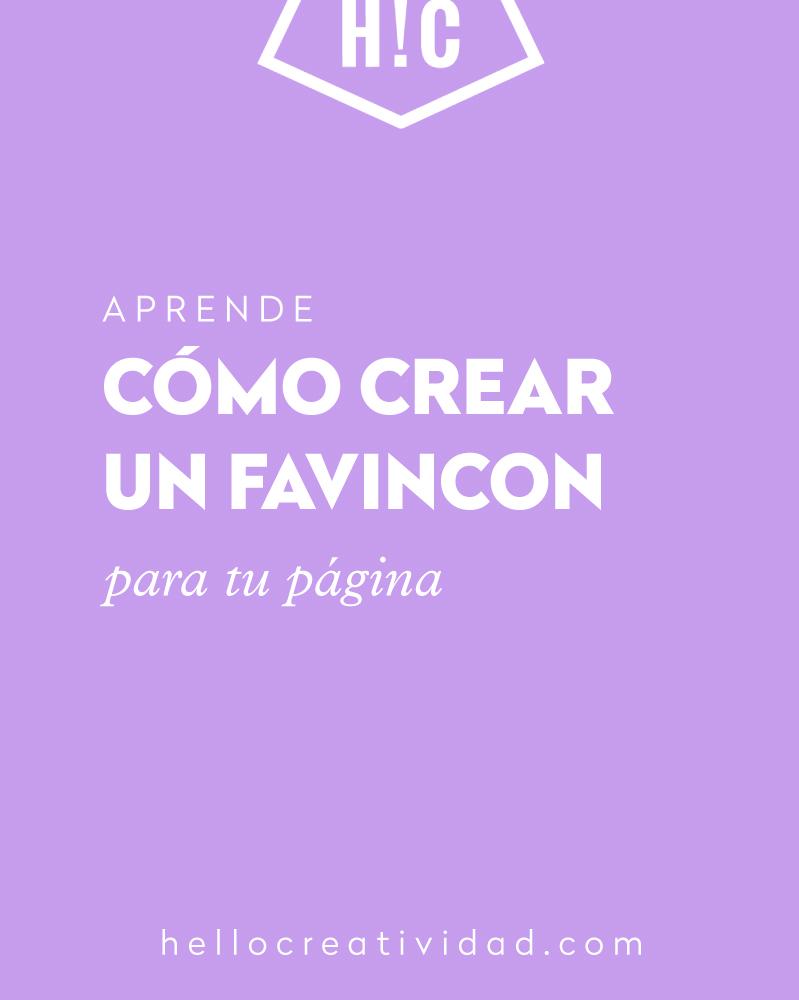 Como crear un favicon para tu página