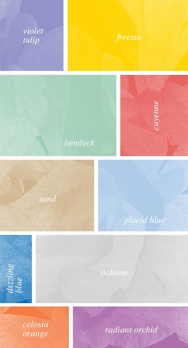 Paleta Pantone primavera 2014 Hello! Creatividad