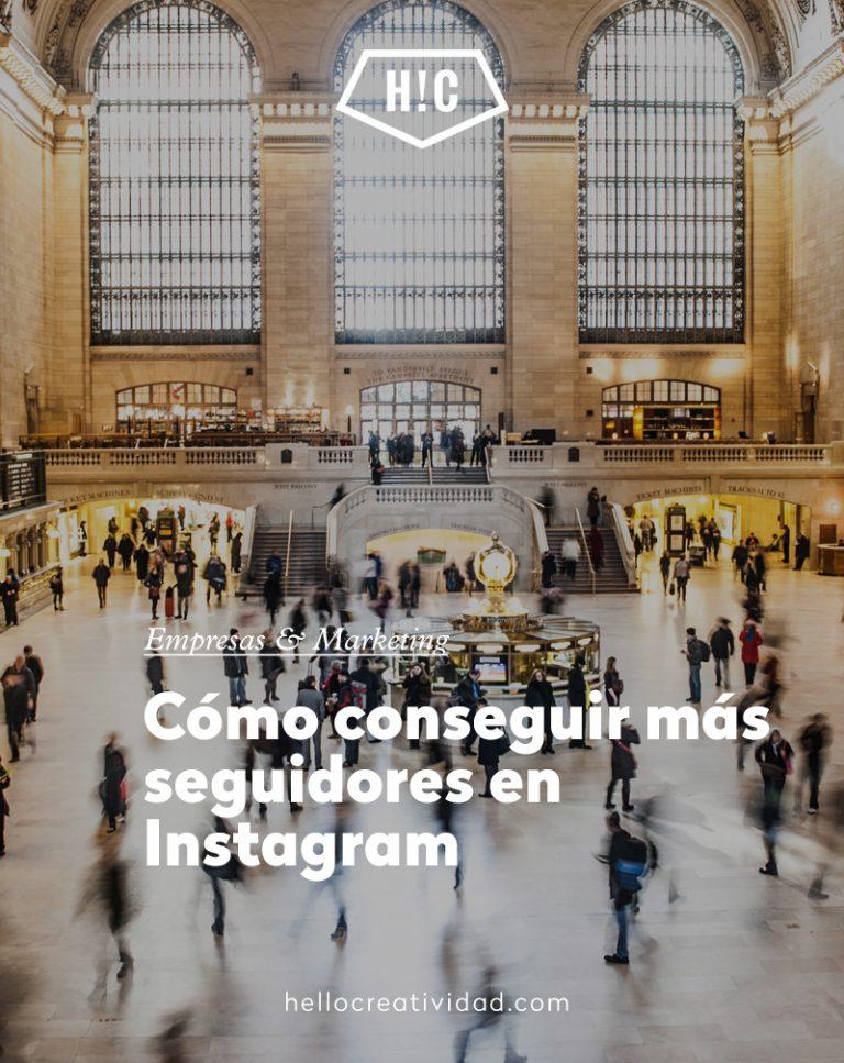 Imagen portada Cómo conseguir más seguidores en Instagram