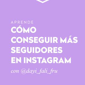 Cómo conseguir más seguidores en Instagram