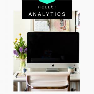 Hello! Analitica web, te estábamos esperando