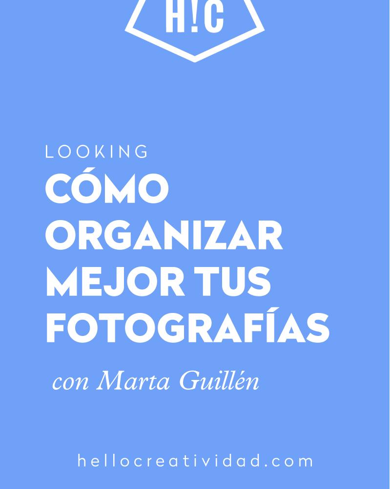 organizar fotografias