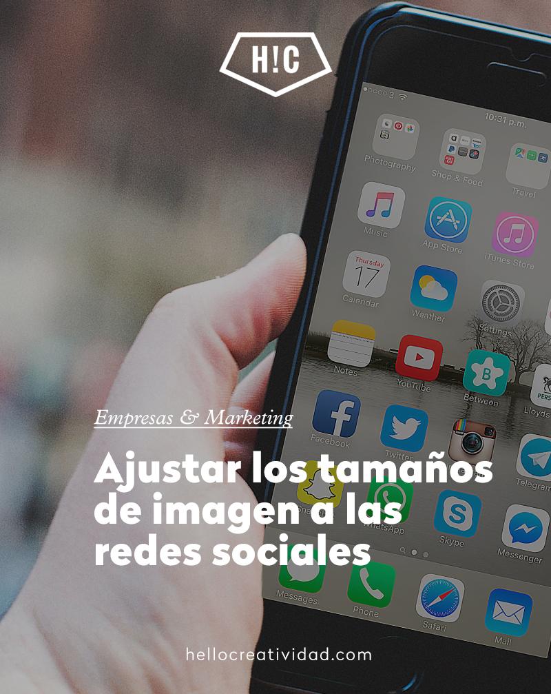 Ajustar los tamaños de imagen a las redes sociales (actualizado abril 2018)