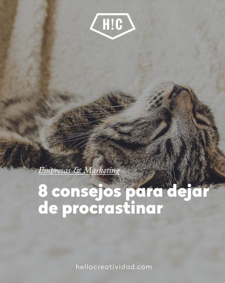 Imagen portada 8 consejos para dejar de procrastinar