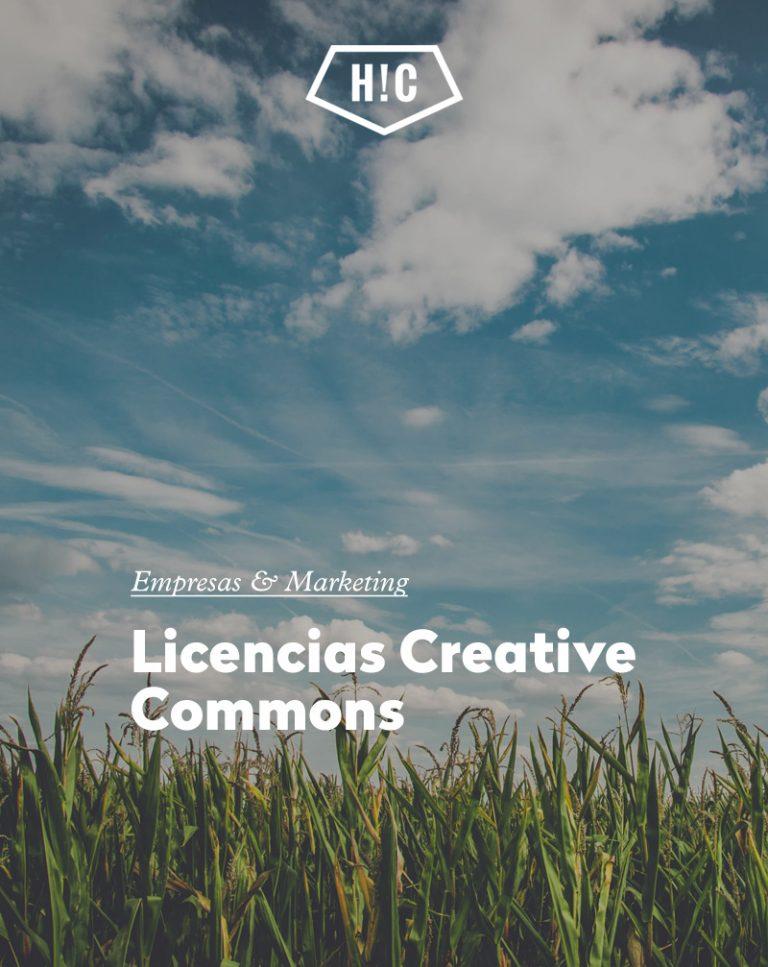 Imagen portada Licencias Creative Commons. cómo utilizar imágenes de internet sin vulnerar los derechos de autor