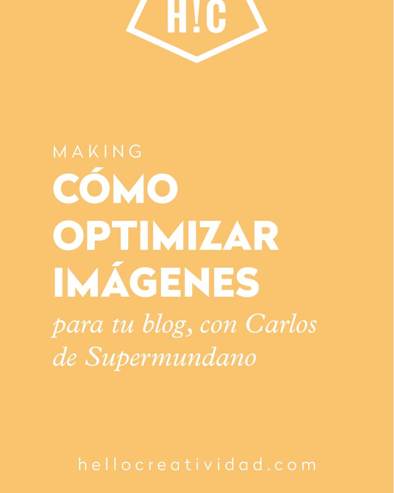 Cómo optimizar imágenes para tu blog