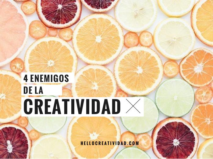 enemigos creatiividad