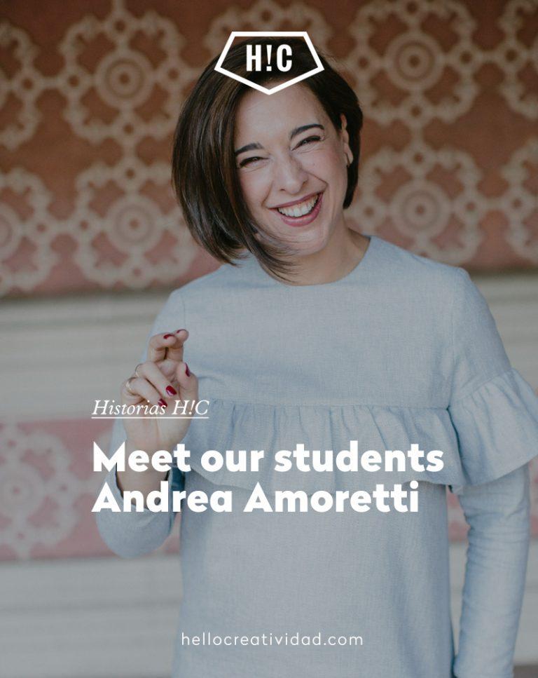 Imagen portada Meet our students Andrea Amoretti