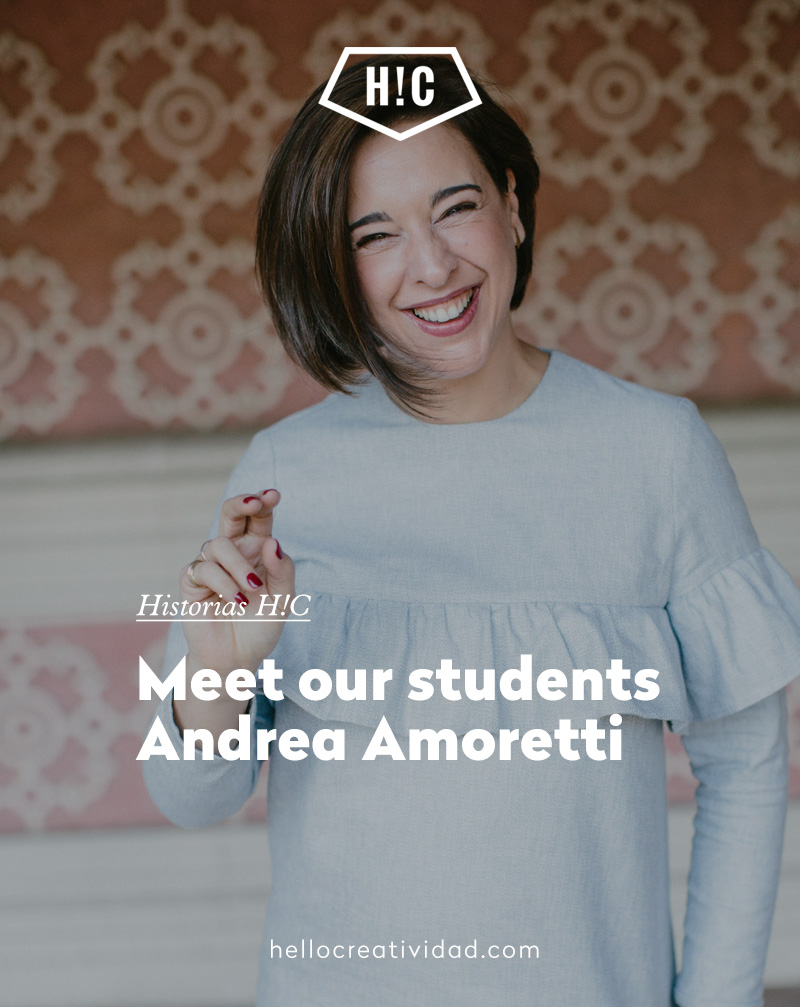 Meet our students Andrea Amoretti