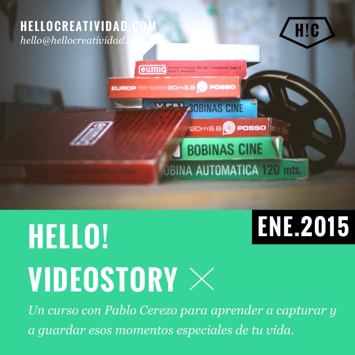 Imagen portada Hello! Videostory: Curso online de edición de vídeos