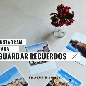 Cómo crear un mini álbum con las fotos de Instagram