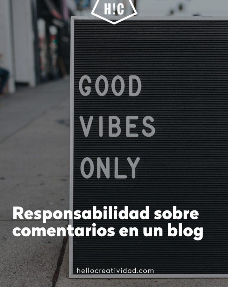 Imagen portada Responsabilidad sobre comentarios en un blog