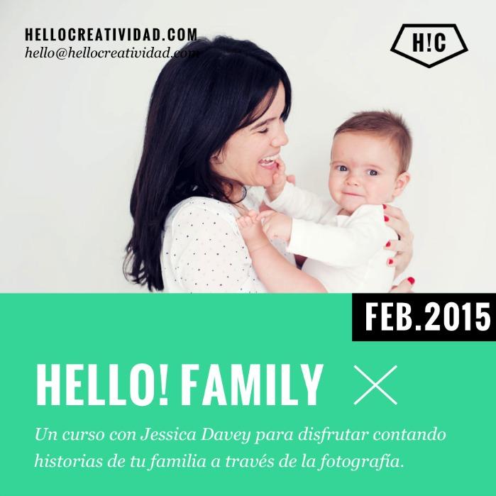 Cartel Hello Family 699px