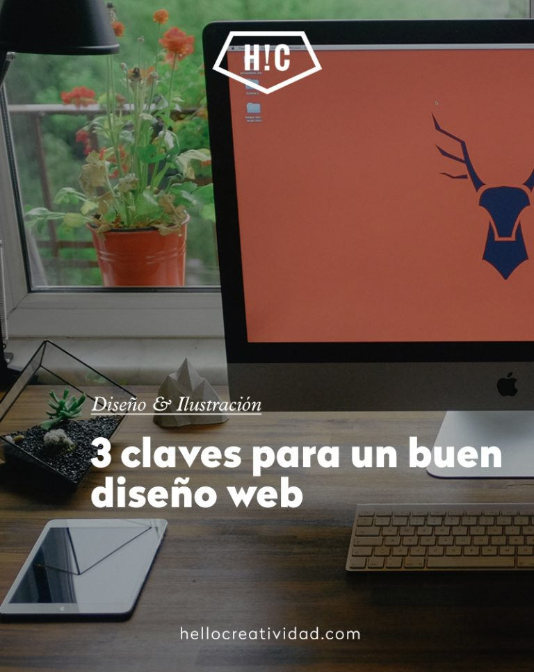 Imagen portada 3 claves para un buen diseño web