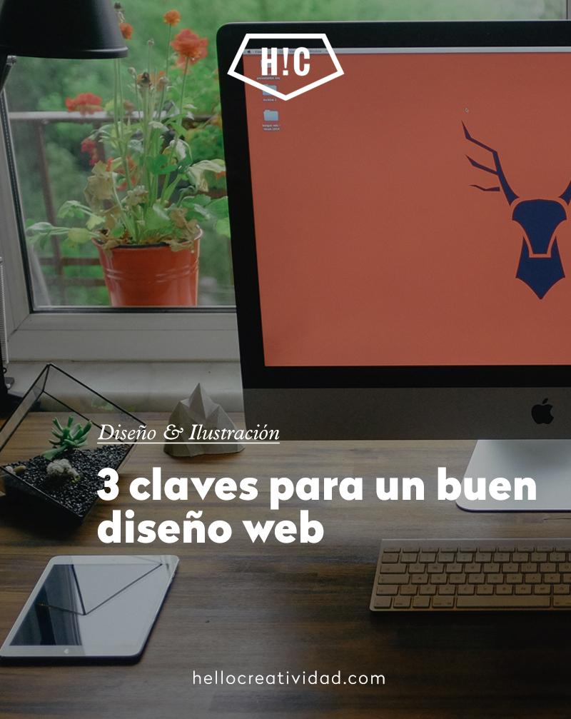 3 claves para un buen diseño web