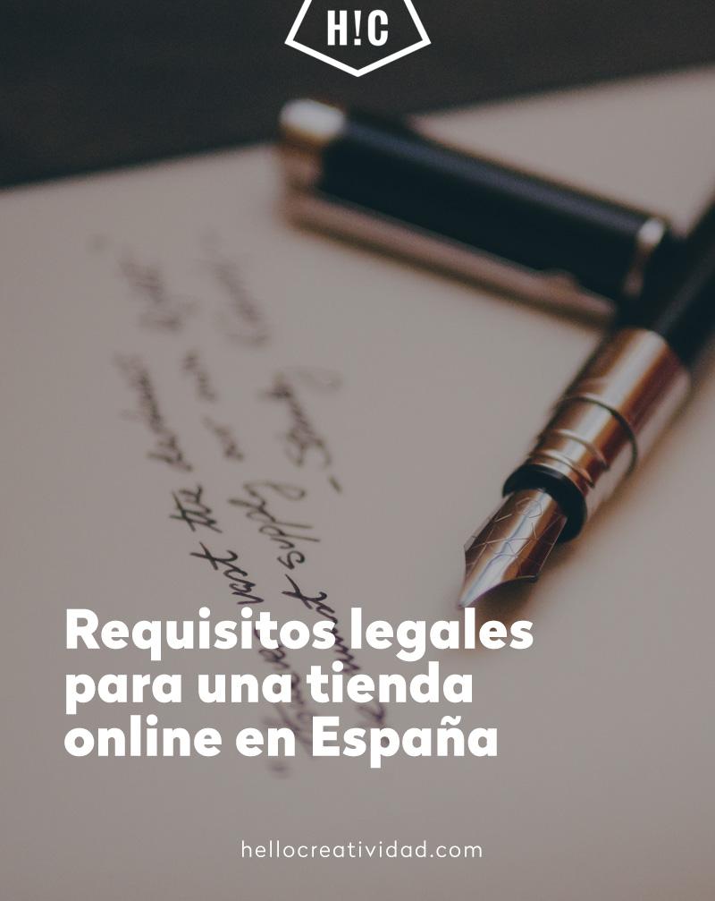 Requisitos legales para una tienda online en España