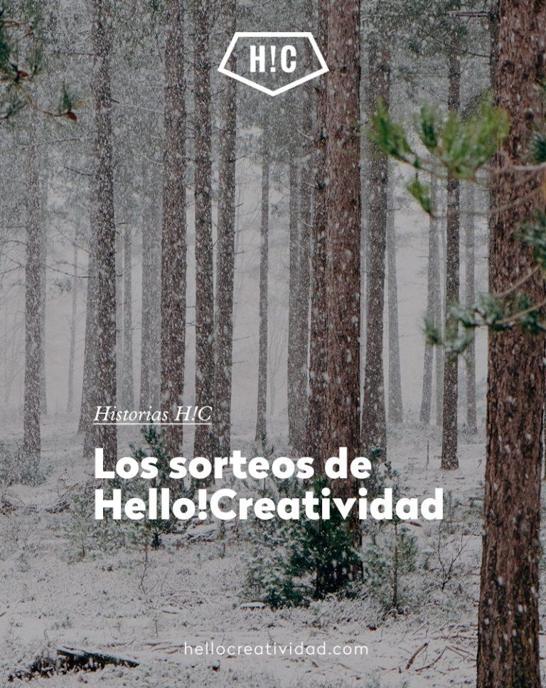 Imagen portada Los sorteos de Hello!Creatividad