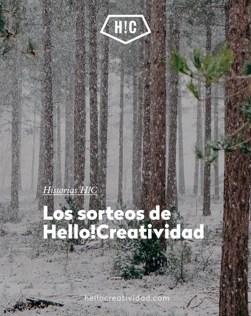 Los sorteos de Hello!Creatividad