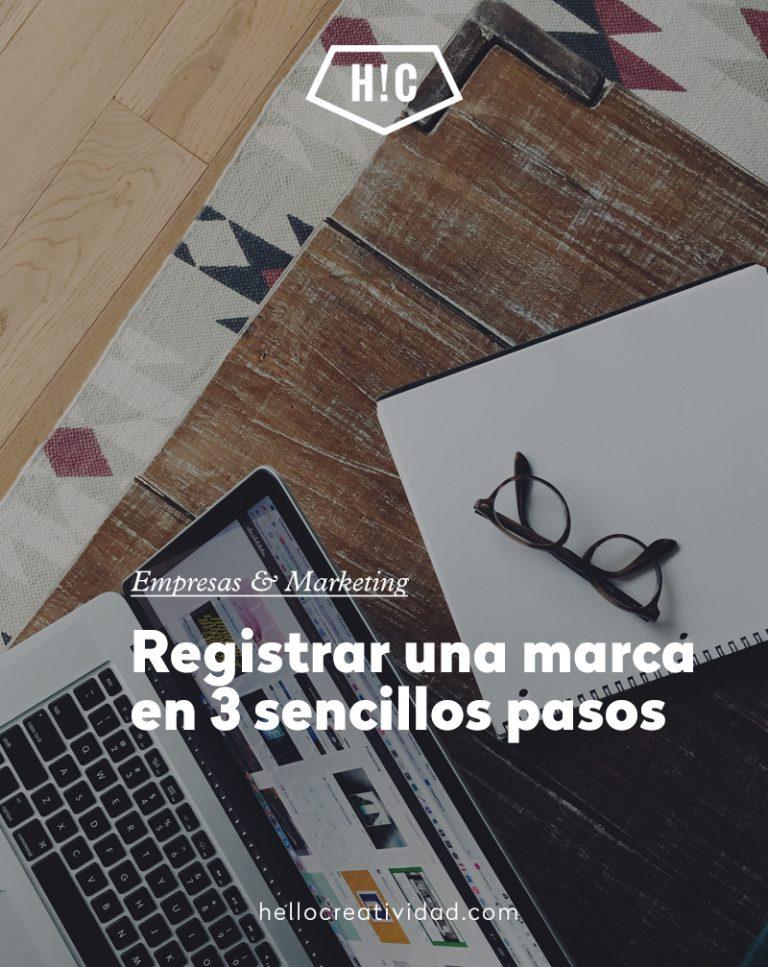 Imagen portada Registrar una marca en 3 sencillos pasos