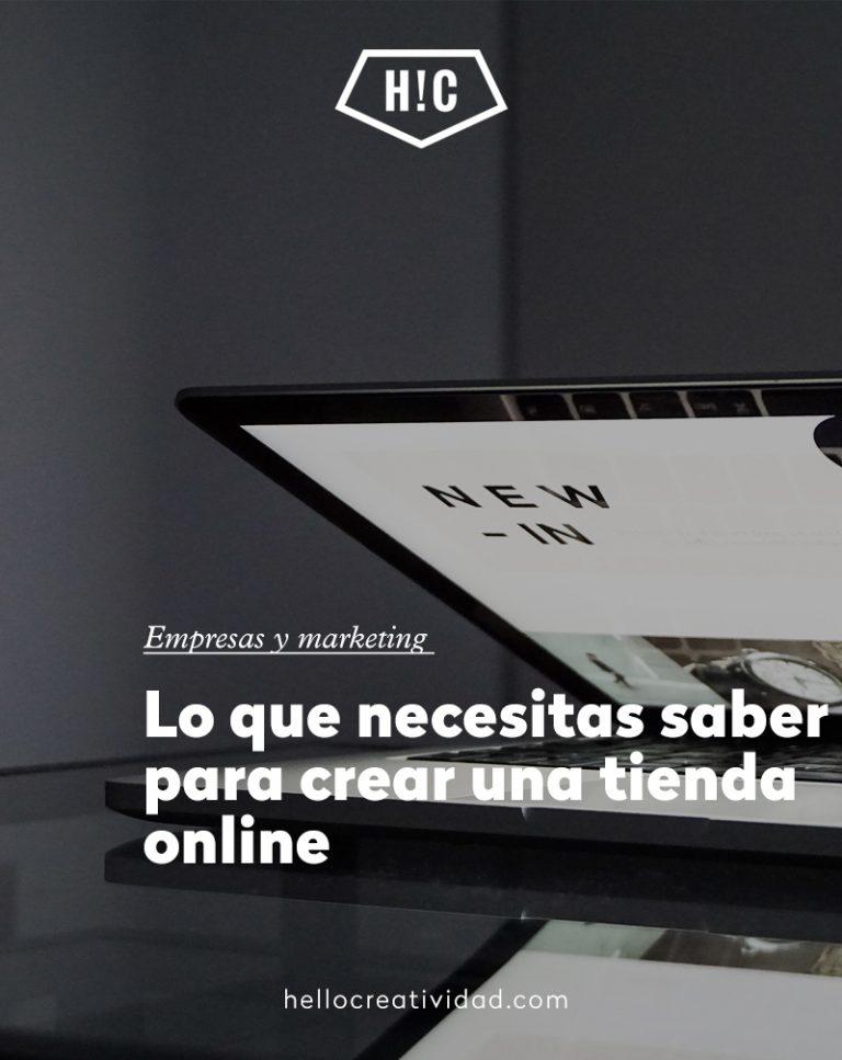 Imagen portada Lo que necesitas saber para crear una tienda online