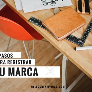 Registrar tu marca en 3 sencillos pasos