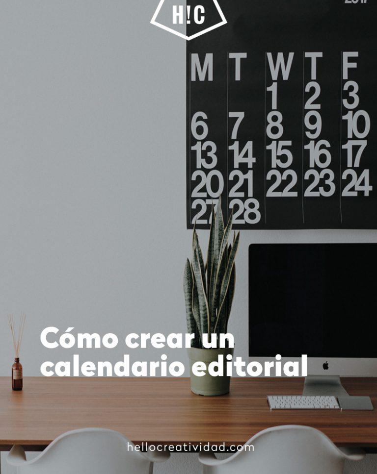 Imagen portada Cómo crear un calendario editorial