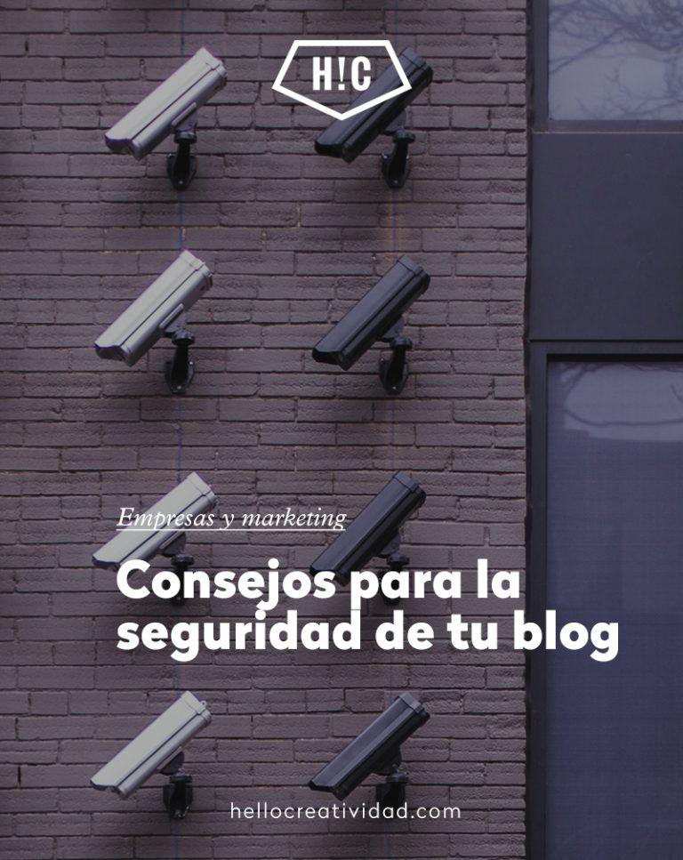Imagen portada Consejos para la seguridad de tu blog