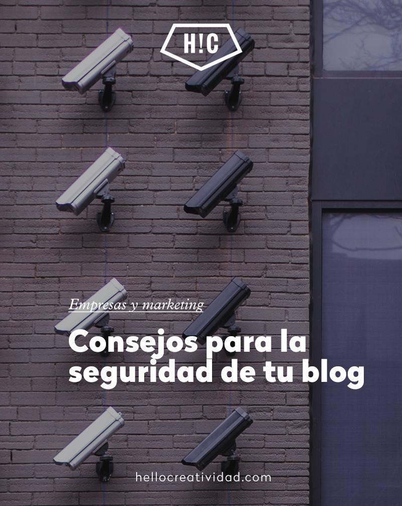 Consejos para la seguridad de tu blog