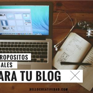 5 buenos propósitos legales para tu blog