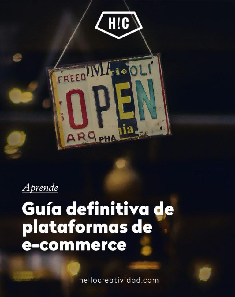 Imagen portada Guía definitiva de plataformas de ecommerce
