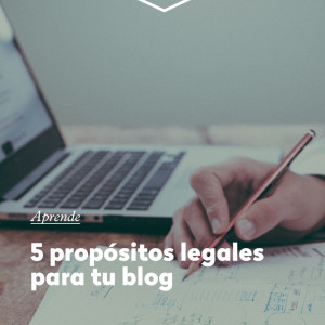 5 requisitos legales para tu blog