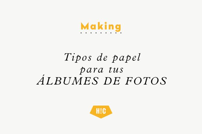 TIPOS DE PAPEL