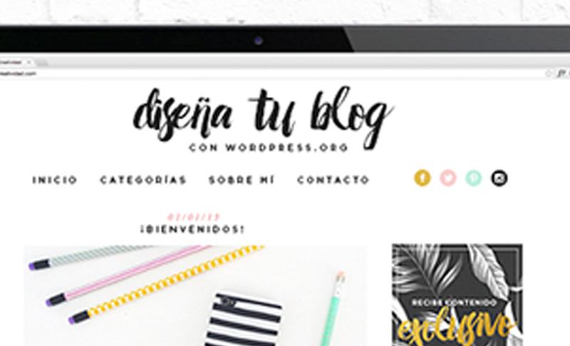 curso online de diseño de blogs