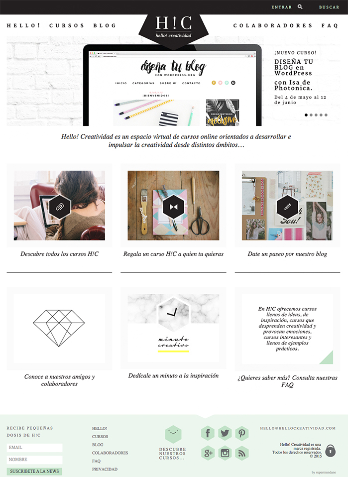 homepage-hello-creatividad