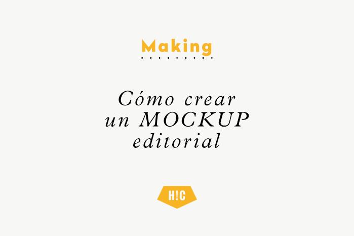 Cómo hacer un mockup editorial