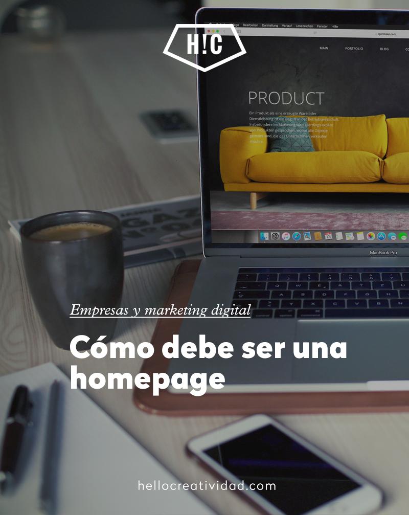 Cómo optimizar una homepage e incrementar el tráfico de tu web