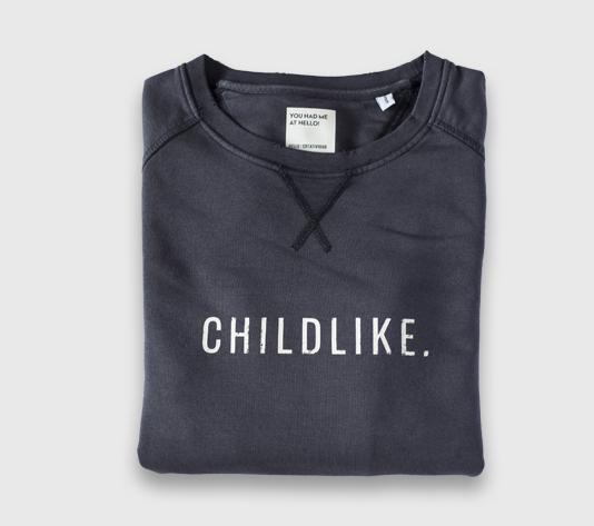 SUDADERA-CHILDLIKE-GRIS-310