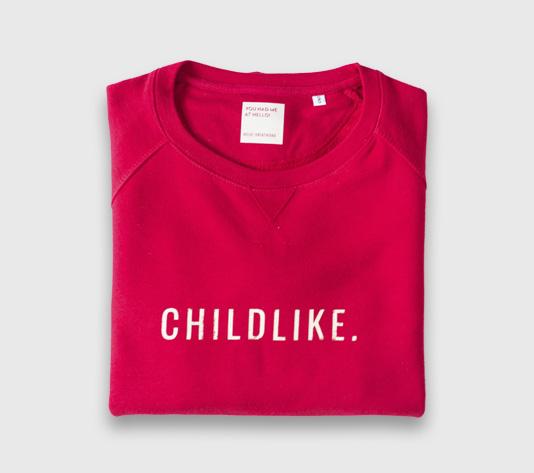 SUDADERA-CHILDLIKE-ROJA-310
