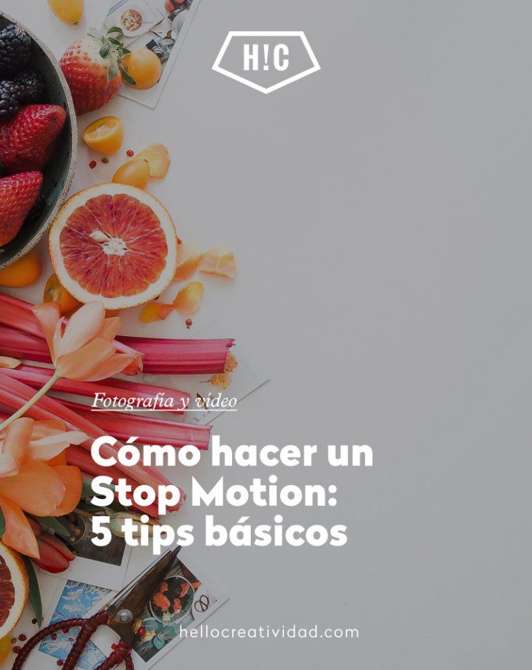 Imagen portada Cómo hacer un Stop Motion: 5 tips básicos