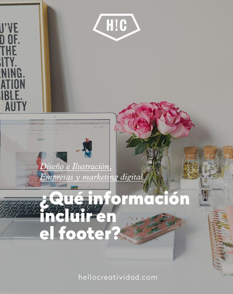 Imagen portada Qué información incluir en el footer