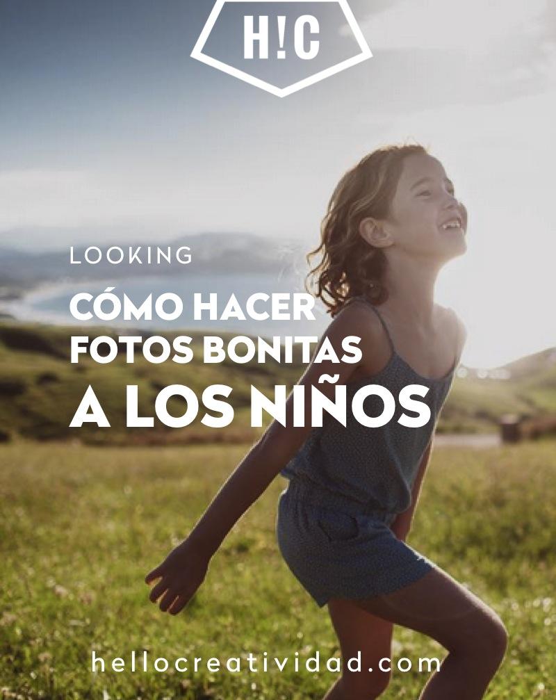 HACER FOTOS BONITAS NIÑOS