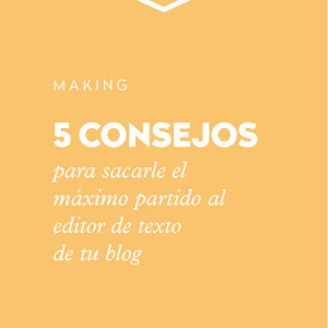 Editor de texto de Wordpress para blogs