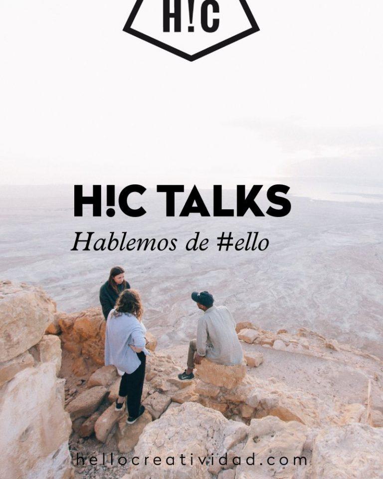 Imagen portada #hctalks: hablemos de #ello. Resumen.