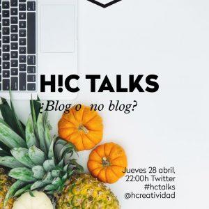 #hctalks: blog o no blog