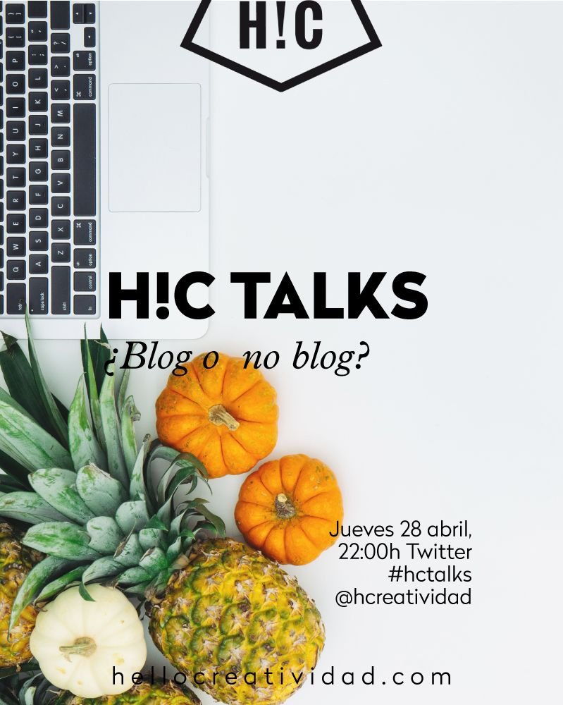 #hctalks: blog o no blog