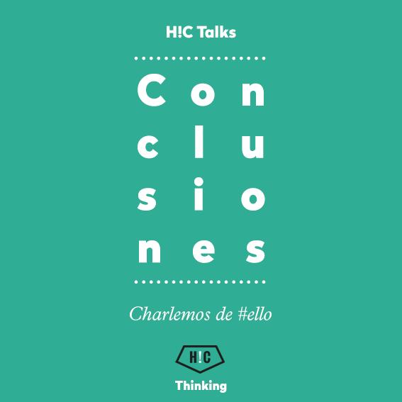 #hctalks: hablemos de #ello. Resumen.